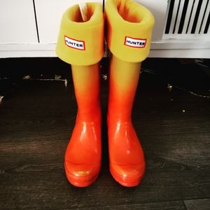 Hunter RARE Ombre Boots